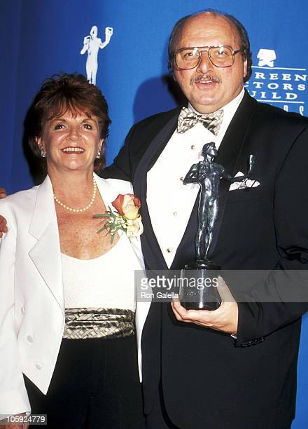 Dennis Franz and Joanie Zeck during 3rd Annual Screen Actors Guild Awards at Shrine Exposition Center in Los Angeles California United States