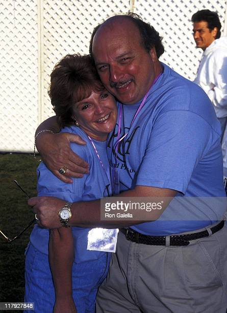 Dennis Franz and Joanie Zeck during 4th Annual Revlon Run/Walk for Women's Cancer Research at Drake Stadium at UCLA in Westwood California United...