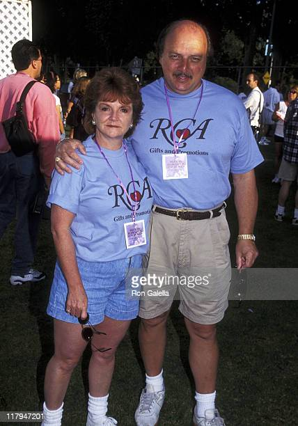 Dennis Franz and Joanie Zeck during 4th Annual Revlon Run/Walk for Women's Cancer Research at Drake Stadium at UCLA in Westwood, California, United...