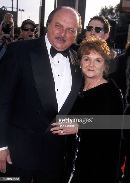Dennis Franz and Joanie Zeck during 4th Annual Screen Actors Guild Awards at Shrine Auditorium in Los Angeles CA United States