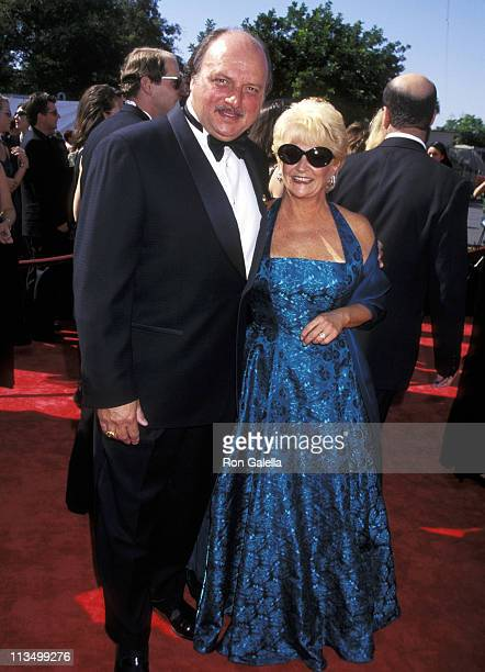 Dennis Franz and Joanie Zeck during 50th Annual Primetime Emmy Awards at Shrine Auditorium in Los Angeles California United States