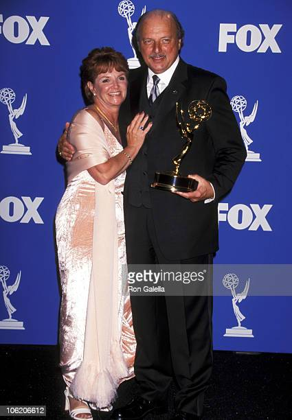 Dennis Franz and Joanie Zeck during 51st Annual Primetime Emmy Awards at Shrine Auditorium in Los Angeles California United States