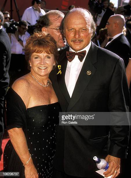 Dennis Franz and Joanie Zeck during 52nd Annual Primetime Emmy Awards at Shrine Auditorium in Los Angeles California United States