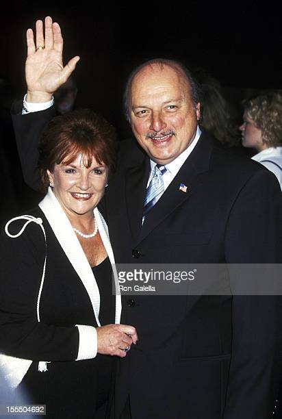 Dennis Franz and Joanie Zeck during 53rd Annual Primetime Emmy Awards Arrivals at Shubert Theater in Century City California United States