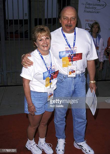 Dennis Franz and Joanie Zeck during 6th Annual Revlon Run/Walk for Women's Cancer Research at LA Memorial Coliseum in Los Angeles California United...
