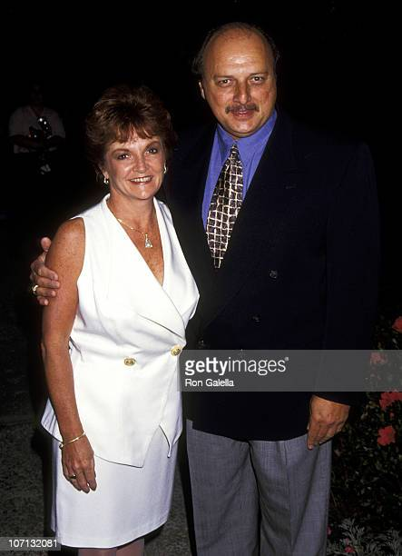 Dennis Franz and Joanie Zeck during Academy of Television Arts Sciences PrePrimetime Emmy Awards Cocktail Reception at Westwood Marquis Hotel in...