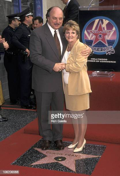 Dennis Franz and Joanie Zeck during Dennis Franz Receives a Star on the Hollywood Walk of Fame at 7021 Hollywood Blvd in Hollywood California United...