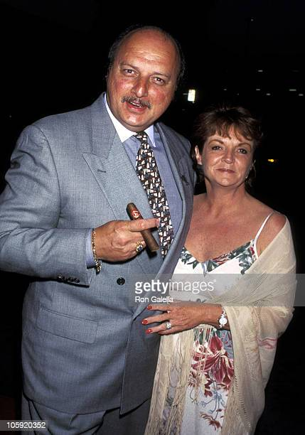 Dennis Franz and Joanie Zeck during Opening Night Party Grand Havana Room in Beverly Hills California United States