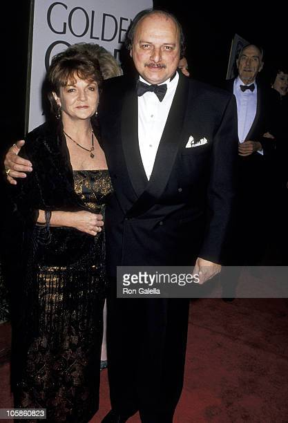 Dennis Franz and Joanie Zeck during The 52nd Annual Golden Globe Awards at Beverly Hilton Hotel in Beverly Hills California United States
