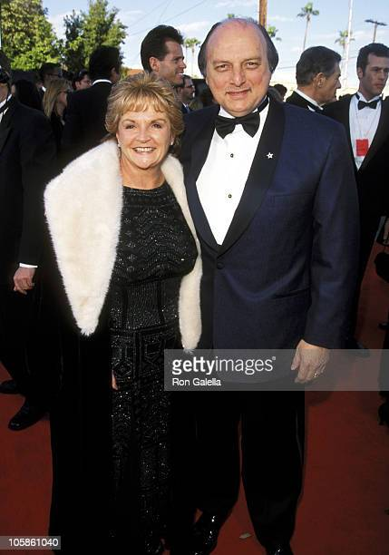 Dennis Franz and Joanie Zeck during The 5th Annual Screen Actors Guild Awards Arrivals at Shrine Auditorium in Los Angeles California United States