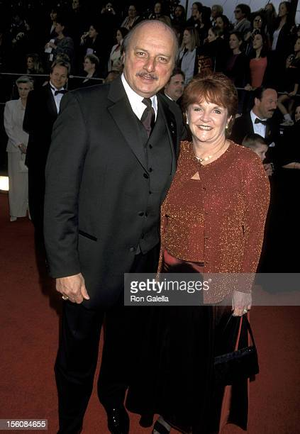Dennis Franz and Joanie Zeck during The 7th Annual Screen Actors Guild Awards at Shrine Auditorium in Los Angeles California United States