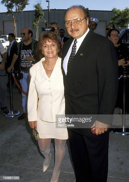 Dennis Franz and Joanie Zeck during The Family Film Awards at CBS Studios in Los Angeles CA United States