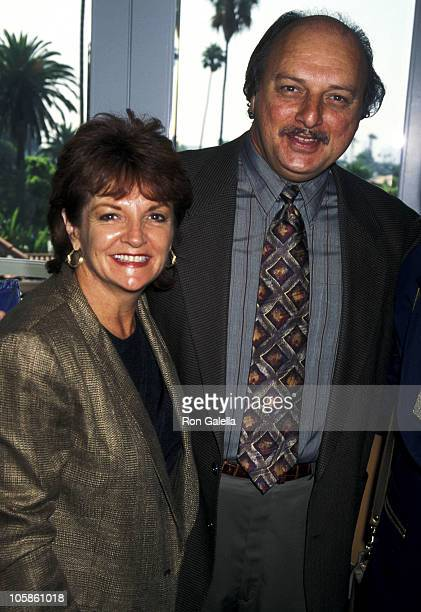 Dennis Franz and Joanie Zeck during Women In Film's 2nd Annual Lucy Awards at Beverly Hills Hotel in Beverly Hills California United States