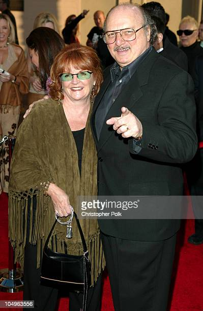Dennis Franz and wife Joanie Zeck during 31st Annual American Music Awards Arrivals at Shrine Auditorium in Los Angeles California United States