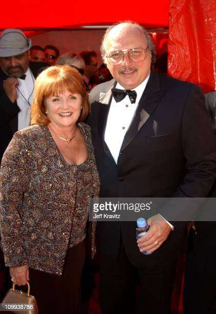 Dennis Franz and wife Joanie Zeck during 55th Annual Primetime Emmy Awards Red Carpet at The Shrine Auditorium in Los Angeles California United States