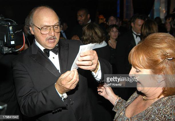 Dennis Franz and wife Joanie Zeck during 55th Annual Primetime Emmy Awards Governors Ball at The Shrine Auditorium in Los Angeles California United...