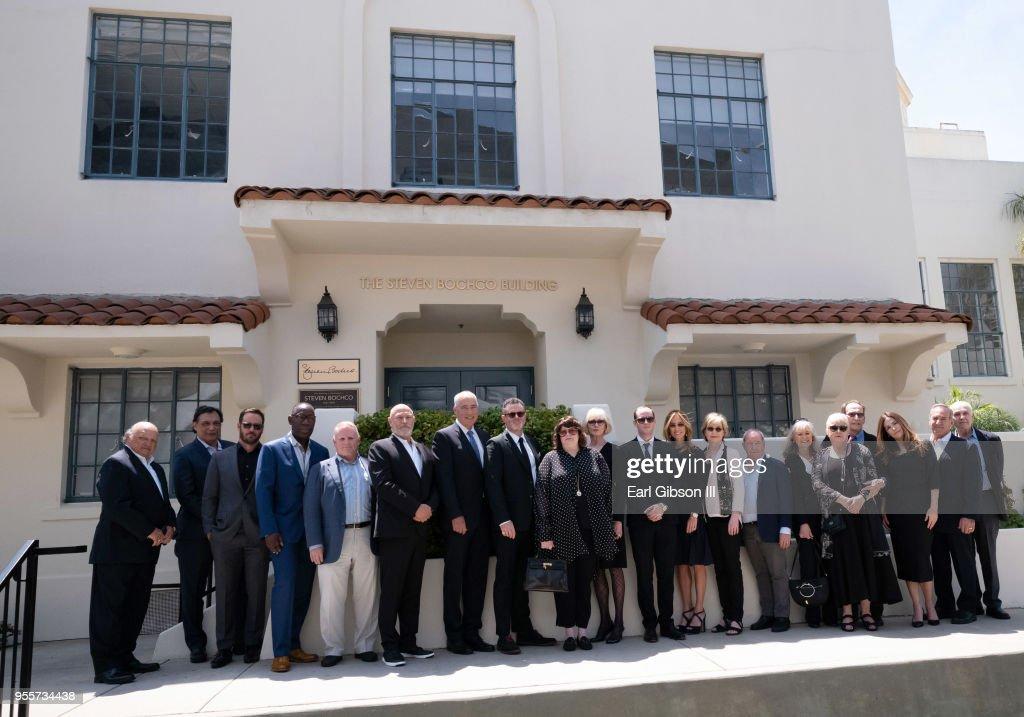 Steven Bochco Building Dedication : News Photo