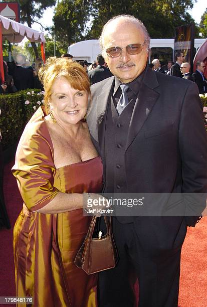 Dennis Franz with wife Joanie Zeck during The 56th Annual Primetime Emmy Awards Red Carpet at The Shrine Auditorium in Los Angeles California United...