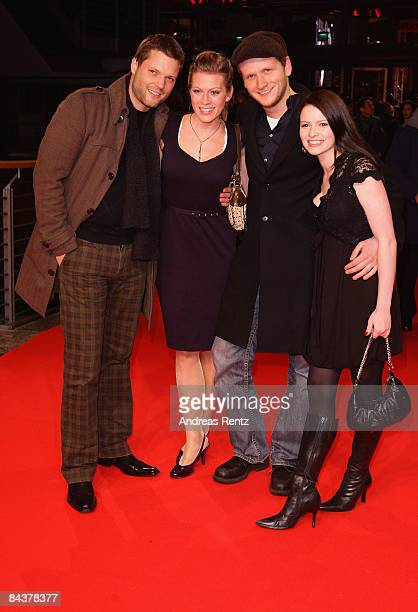 Dennis Gansel, Nele Kiper, Peter Thorwarth and Jennifer Ulrich arrive for the premiere of the film 'Valkyrie' by director Bryan Singer on January 20,...