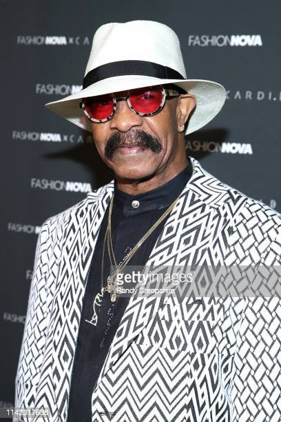 Dennis Graham arrives as Fashion Nova Presents Party With Cardi at Hollywood Palladium on May 8 2019 in Los Angeles California