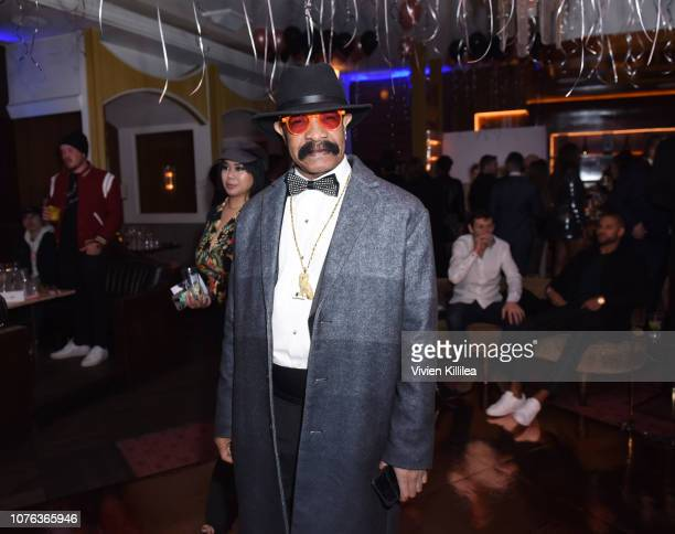 Dennis Graham attends The Mod Sèlection Champagne New Years Party Hosted By Drake And John Terzian at Delilah on December 31 2018 in Los Angeles...