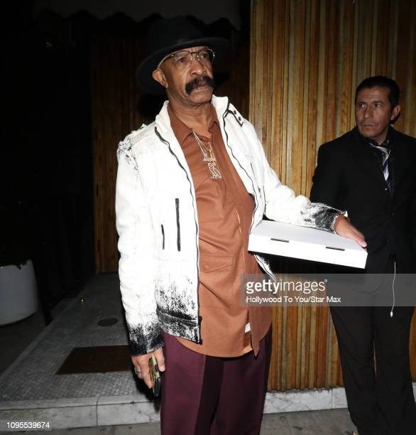 Dennis Graham is seen on February 7 2019 in Los Angeles CA