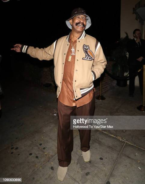 Dennis Graham is seen on January 27 2019 in Los Angeles CA