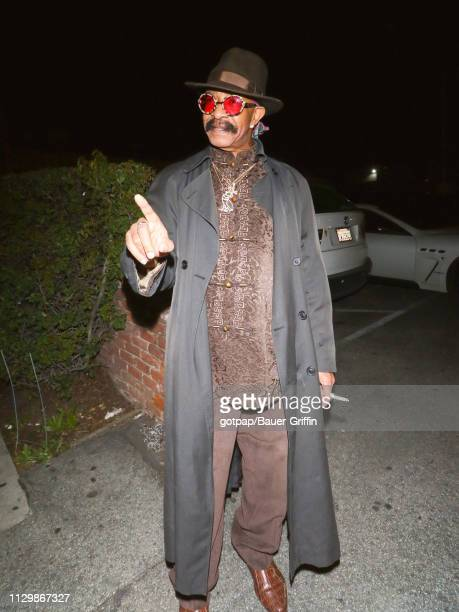 Dennis Graham is seen on March 11 2019 in Los Angeles California