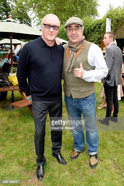 Dennis Greaves and Danny Baker attend Home Coming hosted by Home House and Vertu, the English luxury mobile phone brand at Regent's Park Open Air...