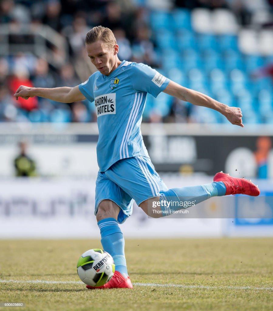 Chemnitzer FC v Hallescher FC - 3. Liga