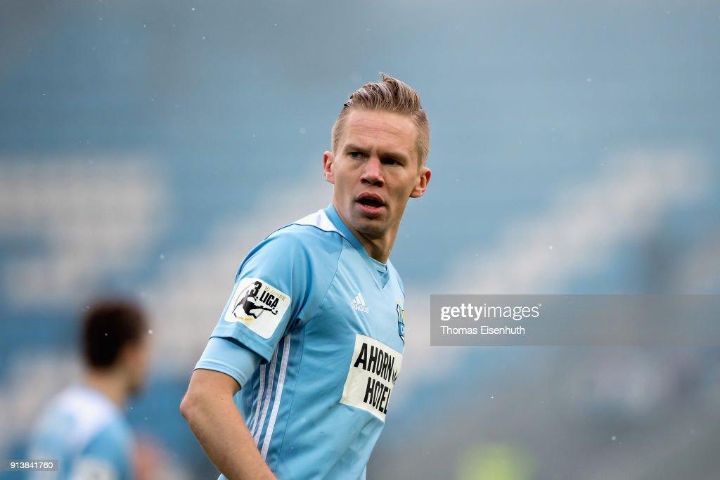 Chemnitzer FC v FC Carl Zeiss Jena - 3. Liga