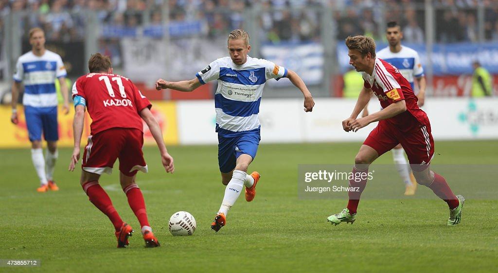 MSV Duisburg v Holstein Kiel  - 3. Liga