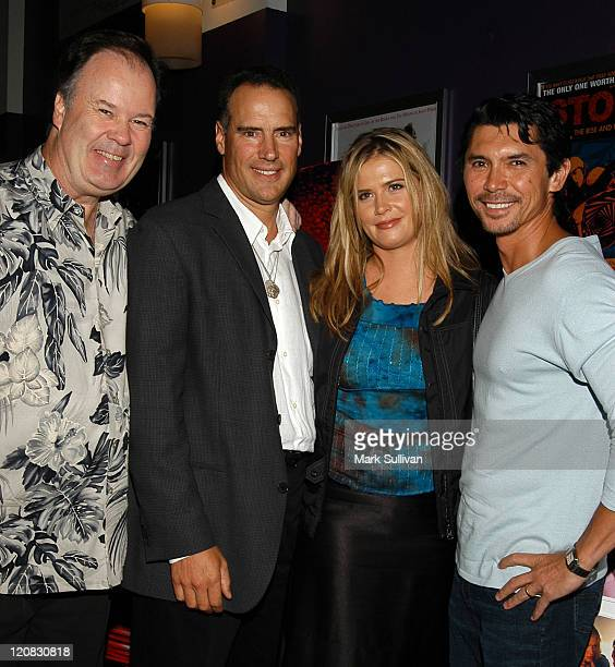 Dennis Haskins, Charles Robert Carner, Kristy Swanson and Lou Diamond Phillips