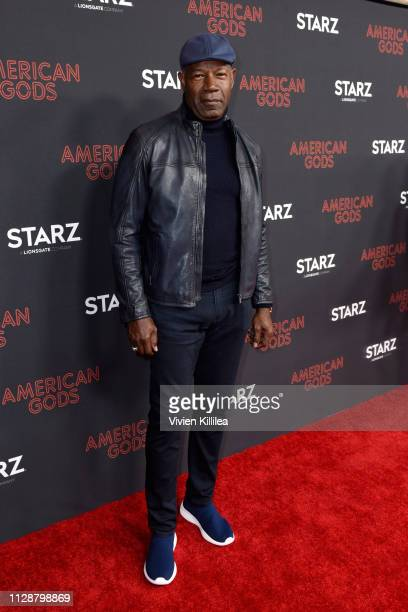 Dennis Haysbert attends the American Gods Season Two Red Carpet Premiere Event on March 5 2019 in Los Angeles California