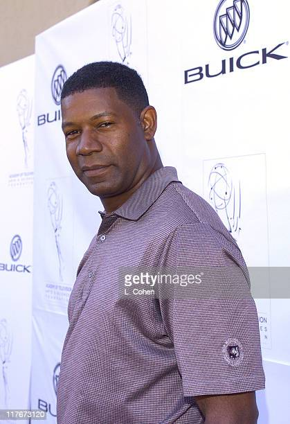 Dennis Haysbert during 5th Annual Academy of Television Arts and Sciences Foundation Celebrity Golf Classic Sponsored by Buick at Riviera Country...