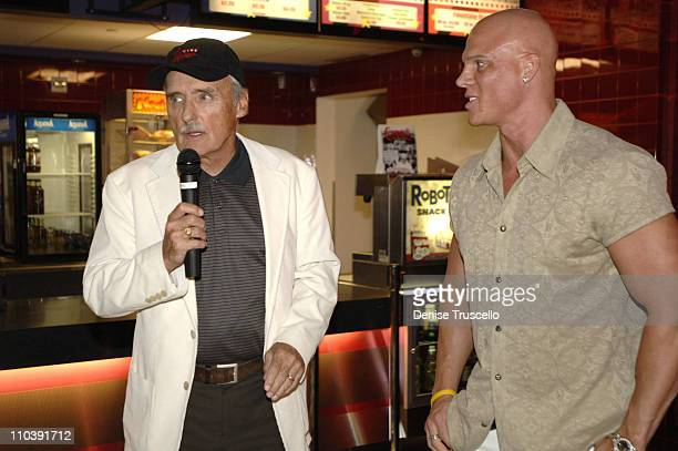 Dennis Hopper and Johnny Brenden during CineVegas Film Festival 2005 Rhonda Fleming Recieves Brenden Celebrity Star at Brenden Theatres in Las Vegas...