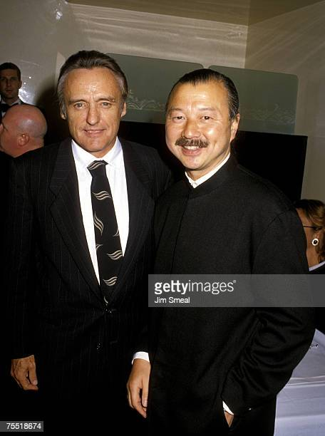 Dennis Hopper and Mr Chow at the Mr Chow's Restaurant in Beverly Hills California