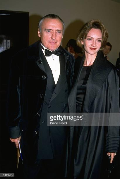 Dennis Hopper and wife