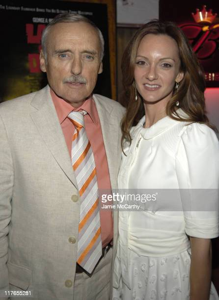 Dennis Hopper and wife Victoria Duffy during 2005 Cannes Fiilm Festival AnheuserBusch Hosts 'Land of the Dead' Party at AnheuserBusch Big Eagle Yacht...