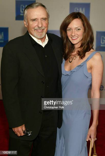 Dennis Hopper and wife Victoria Duffy during GM Rocks Award Season With Cars Stars and Fashion Arrivals and Inside at Sunset and Vine in Hollywood...