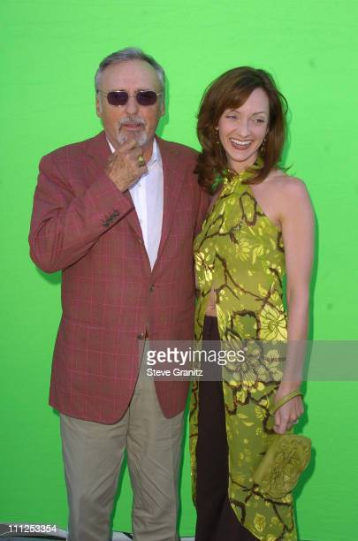 Dennis Hopper and wife Victoria Duffy during The 19th Annual IFP Independent Spirit Awards Arrivals at Santa Monica Pier in Santa Monica California...