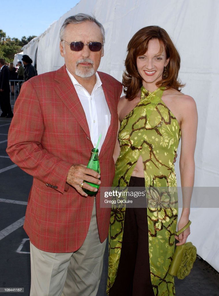 Dennis Hopper and wife Victoria during The 19th Annual IFP Independent Spirit Awards - Audience and Backstage at Santa Monica Pier in Santa Monica, California, United States.