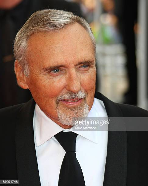 """Dennis Hopper arrives at the """"Blindness"""" premiere during the 61st Cannes International Film Festival on May 14, 2008 in Cannes, France."""
