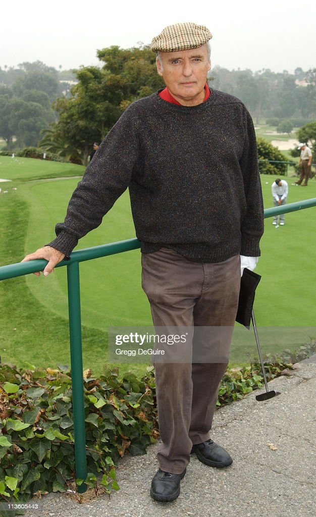 Dennis Hopper during 4th Annual Elizabeth Glaser Pediatric AIDS Foundation Celebrity Golf Classic Sponsored By Mossimo & Mercedes-Benz at Riviera Country Club in Pacific Palisades, California, United States.