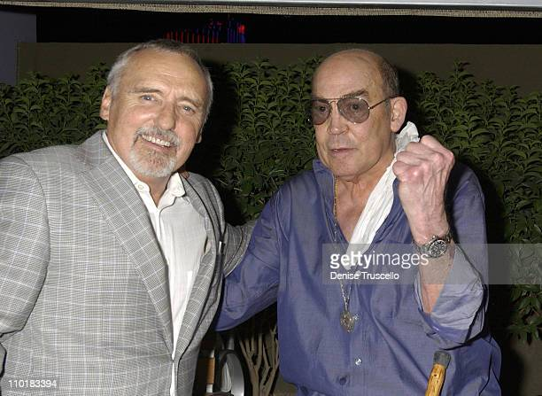 Dennis Hopper Hunter S Thompson during CineVegas Film Festival 2003 Movieline Hollywood Life Presents the Closing Night Gala At Skin Inside at The...
