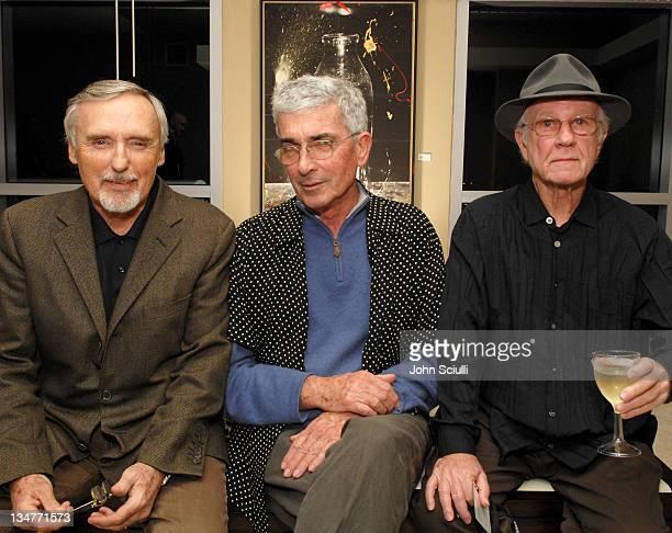 Dennis Hopper Peter Alexander and Joe Goode at Azzurra