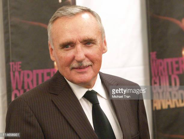 Dennis Hopper, presenter during 2006 Writers Guild Awards - Press Room at The Hollywood Palladium in Hollywood, California, United States.