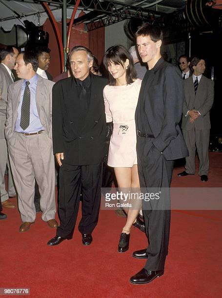 Dennis Hopper Sandra Bullo ck and Keanu Reeves