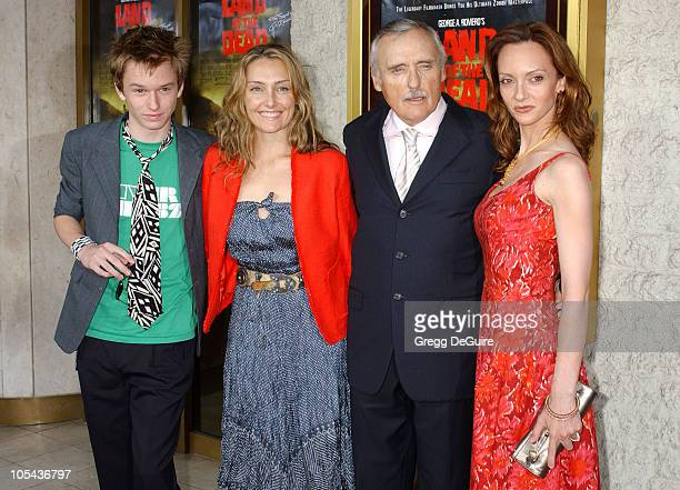 Dennis Hopper wife Victoria Duffy son Henry and daughter Ruthana