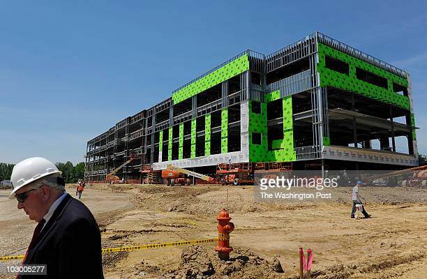 Dennis Lane is Senior VP at Ryan Commercial Real Estate Services His company is putting up this building that has more than 1 million dollars worth...